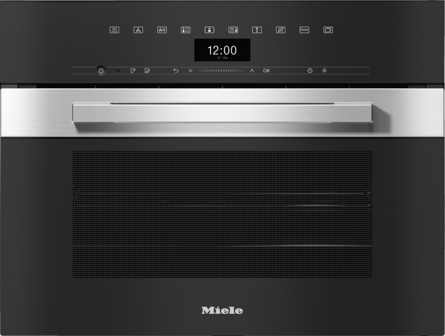 Пароварка Miele DGC 7440 EDST/CLST сталь CleanSteel