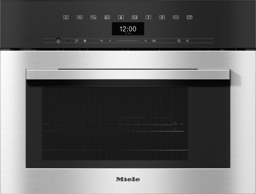 Пароварка Miele DGM 7340 EDST/CLST сталь CleanSteel